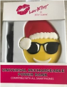 Santa in Sunglasses Emoji power bank