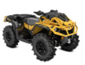 Recalled MY21 Can-Am Outlander XMR 1000R Yellow also sold in Granite Gray-Black-Manta Green