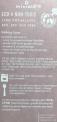 Recall Miniware teething spoon label on the packaging