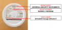 Smoke Alarm (back) Brand Name, Model, and Manufacture Date Codes