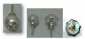 Recalled Mercury Glass Crackled Style drawer knob.