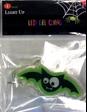 Green and Black Bat LED Gel Cling