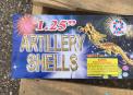 "1.25"" Artillery Shells"