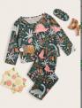Recalled Children's Sleepwear Set: SKU Sknight10191129405