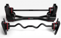 SelectTech 2080 Barbell with Straight Bar and Curl Bar