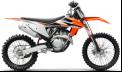 Recalled 2021 KTM 350 SX-F motorcycle