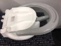 Warning Sticker on Recalled BATTOP Foldable Infant Bath Seats