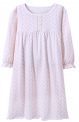 Recalled Auranso Official children's nightgown – long sleeves, white with pink heart print