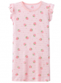 Recalled Auranso Official children's nightgown – short sleeves, pink with pink stripes