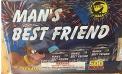 Man's Best Friend Fireworks Cake