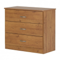 Libra style 3-drawer chest in country pine