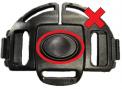 Recalled Black Button Buckle