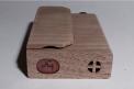 Bottom of recalled Firewood 4 vaporizer in unfinished walnut