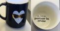 Recalled DAVIDsTEA Partner in Crime Valentine's Day stackable mug