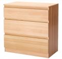 Recalled IKEA KULLEN 3-drawer chest