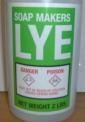 Recalled Soap Makers Lye