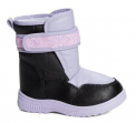 Recalled Lilly of New York children's boot –purple with black
