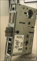 Stanley Commercial door lockset (interior view)