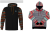 Examples of recalled youth sweatshirt with drawstrings