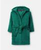 207961-TURTLGREEN Green robe  100% polyester XS, S, M, L
