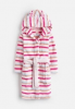 Z_ODRTEDDY-CRMMSTP White robe with pink stripes  100% polyester 1 through 12