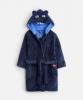 Z_ODRBRUCE-NAVBEAR Navy robe with bear ears  100% polyester 1 through 12
