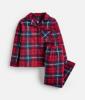 205707-REDCHK Red check pajama  100 % cotton 1 through 12