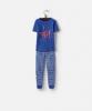 Y_ODRKIPWELL-DAZZBLU Blue short sleeved pajama  97% cotton 3% elastane 1 through 12