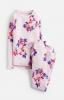 Z_ODRSLEPWL-PKMGRFL Pink pajama with floral print  97% cotton 3% elastane 1 through 12