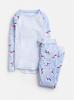 Z_ODRSLEPWL-SKBLUNI Blue pajama with unicorn print  97% cotton 3% elastane 1 through 12