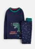 Z_ODRSNOOZE-FNVZREX Navy pajama with dinosaur image  97% cotton 3% elastane 1 through 12